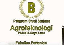 Prodi Agroteknologi PSDKU Universitas Syiah Kuala Terakreditasi B